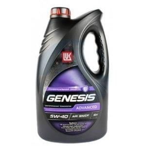Моторное масло Лукойл Genesis Universal/Advanced 5W40