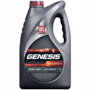 Моторное масло Лукойл Genesis Armortech 5W40