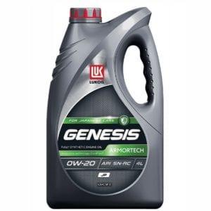 Моторное масло Лукойл Genesis Polartech 0W20
