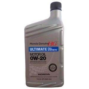 Моторное масло Honda HG Ultimate SN 0W20