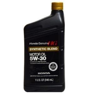 Моторное масло Honda Synthetic Blend SN 5W30