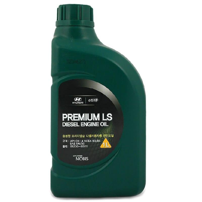 Моторное масло Hyundai Diesel Premium LS 5W30