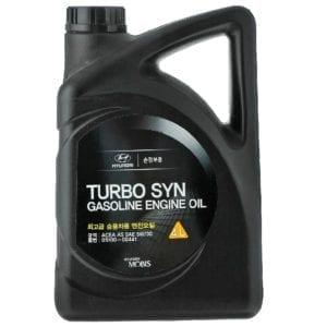 Моторное масло Hyundai Turbo Syn Gasoline 5W30