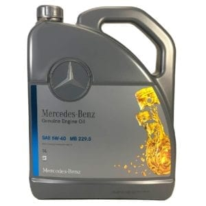 Моторное масло Mercedes-Benz MB 229.5 5W40