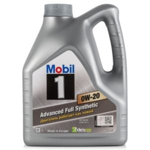 Моторное масло Mobil-1 0W20