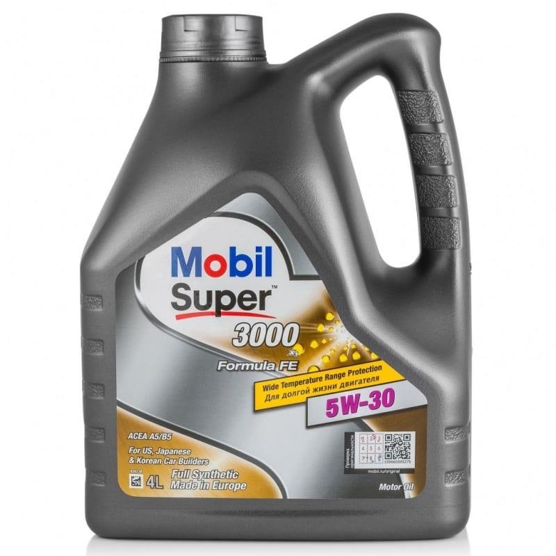 Моторное масло Mobil Super 3000 5W30 Formula FE
