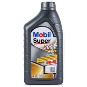 Моторное масло Mobil Super 3000 Diesel 5W40