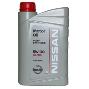 Моторное масло Nissan 5W30 A5/B5