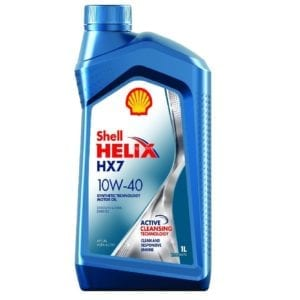 Моторное масло Shell Helix HX7 10W40
