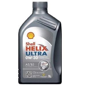 Моторное масло Shell Helix Ultra 0W30 A5/B5