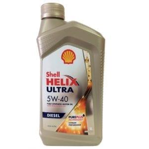 Моторное масло Shell Helix Ultra Diesel 5W40