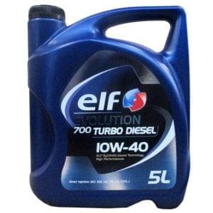 Моторное масло ELF Evolution 700 Turbo Diesel 10W40