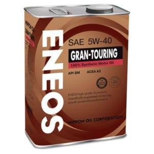 Моторное масло Eneos Gran Touring SN 5W40