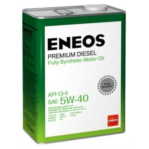 Моторное масло Eneos Premium Diesel 5W40