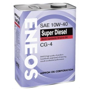 Моторное масло Eneos Super Diesel 10W40
