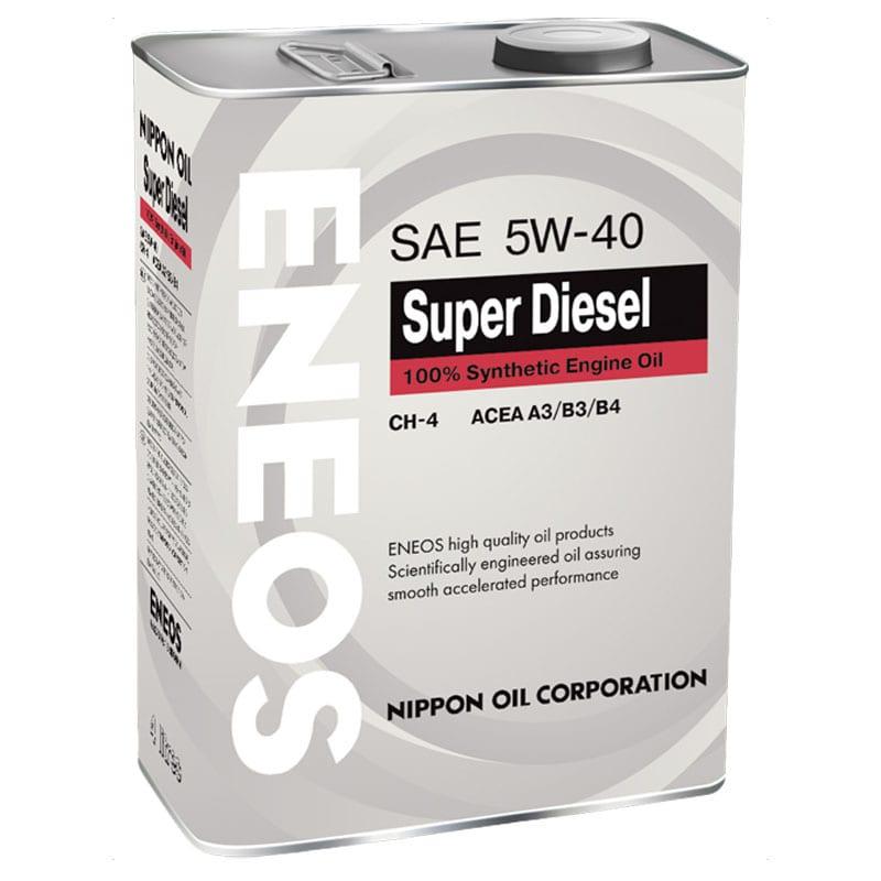 Моторное масло Eneos Super Diesel 5W40