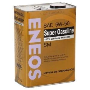 Моторное масло Eneos Super Gasoline 5W50