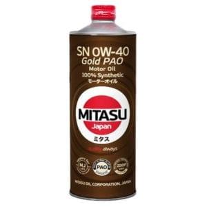 Моторное масло Mitasu Gold 0W40