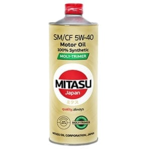 Моторное масло Mitasu Moly-Trimer SM-CF 5W40