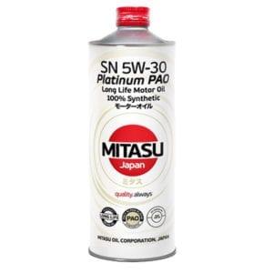 Моторное масло Mitasu Platinum PAO 5W30