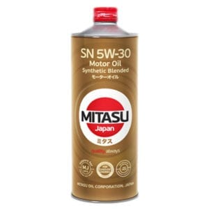 Моторное масло Mitasu Synthetic Blended SN 5W30