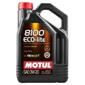 Моторное масло Motul 8100 ECO-life 0W20