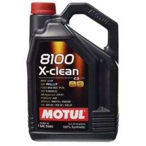 Моторное масло Motul 8100 X-clean 5W40