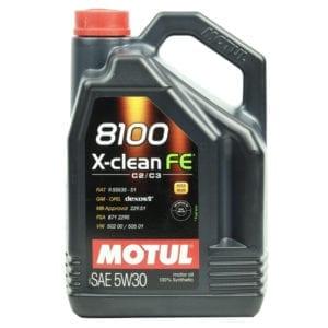 Моторное масло Motul 8100 X-clean FE 5W30