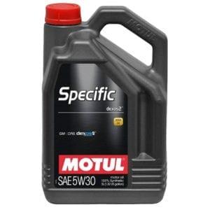 Моторное масло Motul Specific Dexos2 5W30