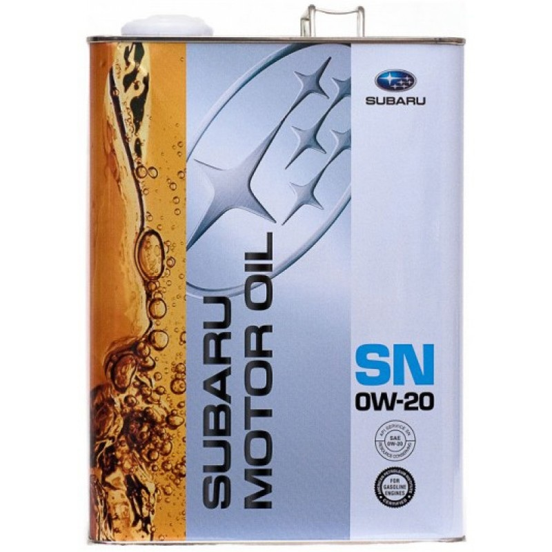 Моторное масло Subaru SN 0W20
