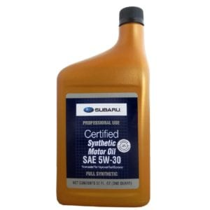 Моторное масло Subaru Synthetic Oil 5W30