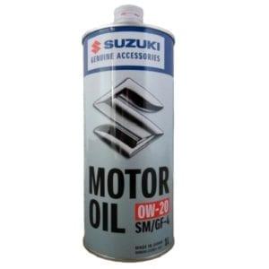 Моторное масло Suzuki SM/GF 0W20