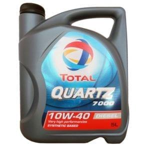 Моторное масло Total Quartz 7000 Diesel 10W40