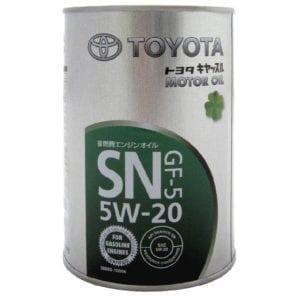 Моторное масло Toyota SN 5W20