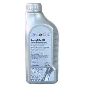 Моторное масло VAG LongLife III 5W30