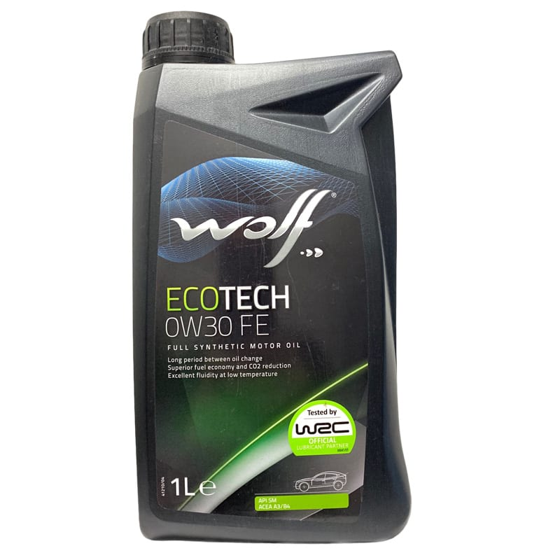 Моторное масло Wolf EcoTech FE 0W30