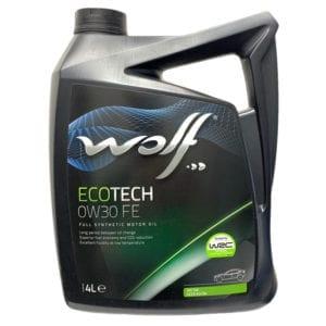 Моторное масло Wolf EcoTech FE 0W30