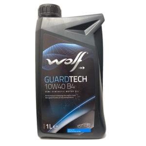 Моторное масло Wolf GuardTech B4 10W40