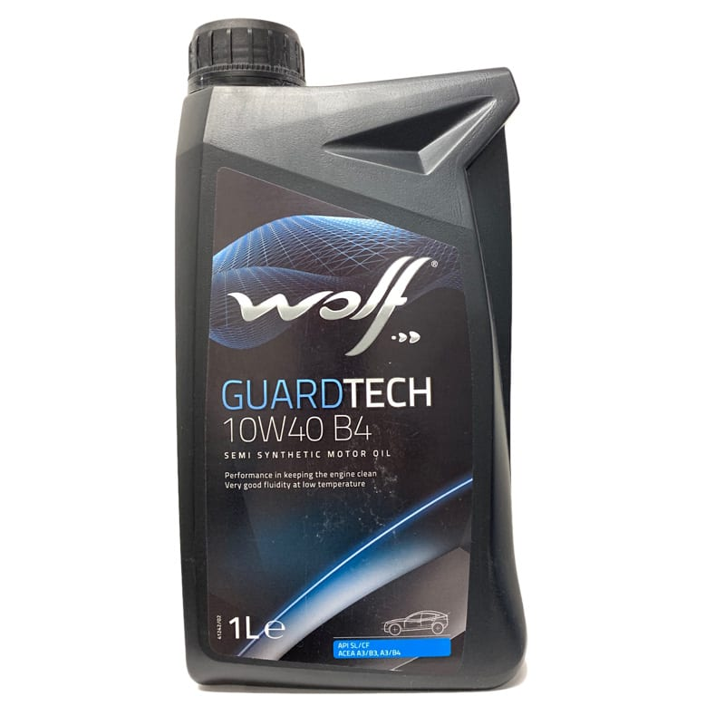 Моторное масло Wolf GuardTech B4 10W40