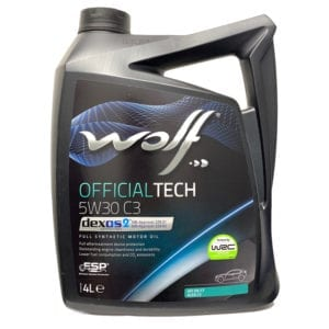 Моторное масло Wolf OfficialTech C3 5W30