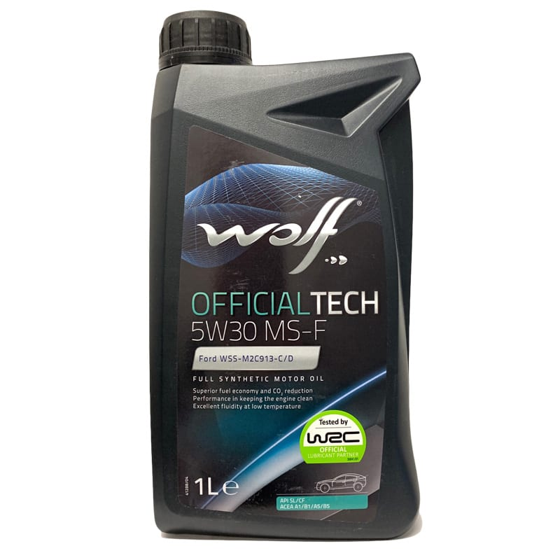 Моторное масло Wolf OfficialTech MS-F 5W30