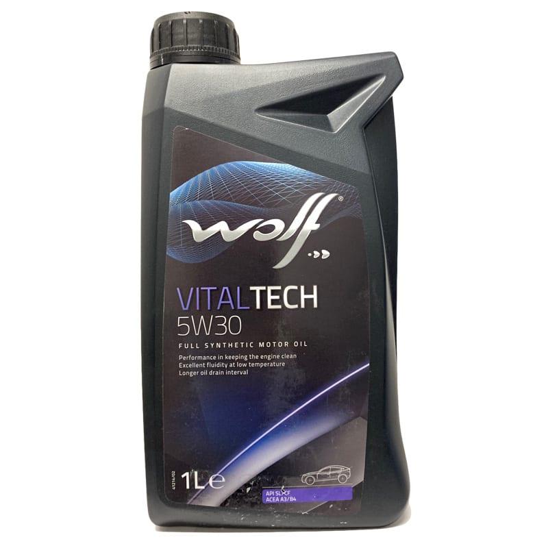 Моторное масло Wolf VitalTech 5W30